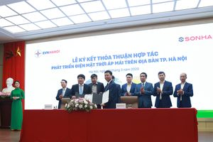 Tập đoàn Sơn Hà hợp tác cùng EVN HANOI phát triển điện Mặt Trời áp mái