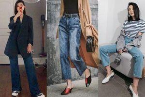 4 dáng quần jeans mặc đẹp cho bạn gái đùi to