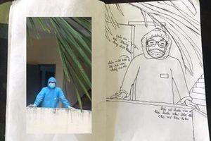 Nhật ký bằng tranh về những ngày sống trong khu cách ly đầy xúc động của nữ du học sinh