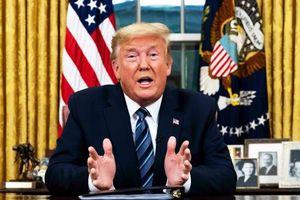Chính quyền hỗn loạn sau bài phát biểu về virus corona của TT Trump