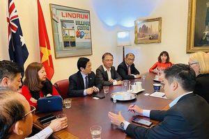 Thị trưởng thành phố Melbourne sẵn sàng hỗ trợ DN Việt Nam phát triển