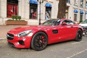 Siêu xe Mercedes-AMG GTS hơn 9 tỷ lăn bánh ở Sài Gòn
