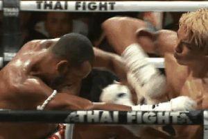 Đấu sĩ Thái Lan đánh cùi chỏ lia lịa, hạ gục nhà vô địch Brazil sau 40 giây