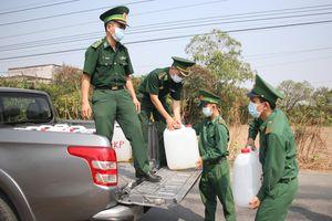 BĐBP hỗ trợ nước ngọt cho đồng bào biên giới biển các tỉnh Tây Nam
