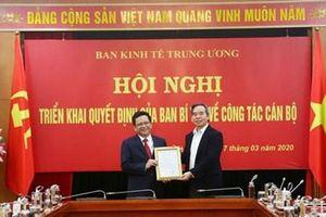 Đồng chí Nguyễn Đức Hiển giữ chức Phó Trưởng ban Kinh tế Trung ương