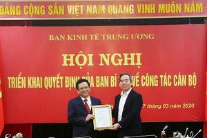 Bổ nhiệm ông Nguyễn Đức Hiển làm Phó trưởng Ban Kinh tế Trung ương