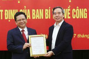 Ban Bí thư bổ nhiệm Phó trưởng Ban Kinh tế Trung ương sinh năm 1977