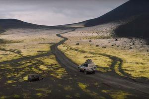 Vùng đất lửa và băng hoang lạnh như đường đến sao Hỏa