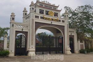 Bên trong dự án Vườn Vua hơn 1.400 tỷ vướng hàng loạt sai phạm ở Phú Thọ
