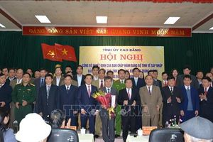 Công bố quyết định thành lập Đảng bộ huyện Trùng Khánh, tỉnh Cao Bằng