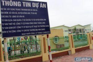 Huyện Đông Anh im lặng trước nghi vấn trường học 61 tỷ đồng bị rút ruột