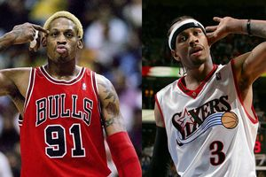 Từ Allen Iverson đến Dennis Rodman: Top 10 'bad boy' khét tiếng nhất NBA