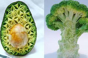 Tuyệt tác nghệ thuật trên rau, củ, quả