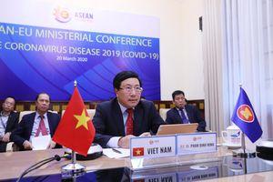 ASEAN và EU hợp tác chặt chẽ trong phòng ngừa dịch COVID-19