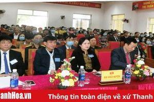 Đảng bộ Thị trấn Nưa (Triệu Sơn) tổ chức thành công Đại hội lần thứ XXV