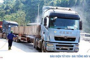Doanh nghiệp vận tải gặp khó tại Cửa khẩu Cầu Treo, Hà Tĩnh