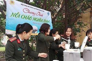 Nữ chiến sỹ CAND Hưng Yên với những phong trào nhân văn ý nghĩa