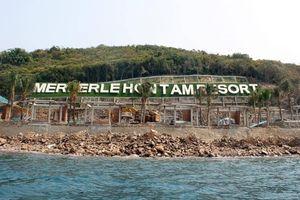 Công trình không phép trên đảo Hòn Tằm đe dọa hệ sinh thái biển Nha Trang