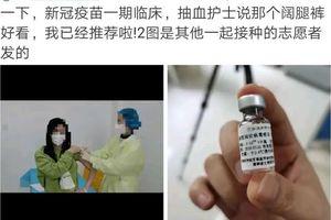 Trung Quốc thử nghiệm vaccine ngừa Covid-19 trên người