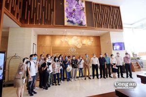 48 người hoàn thành thời gian cách ly tại khách sạn Vanda