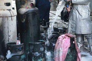 Bình gas phát nổ khiến một giáo viên về hưu tử vong thương tâm
