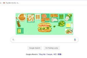 Bánh mì Việt Nam lên Google Doodle