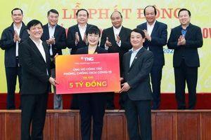 TNG Holdings Vietnam quyết liệt bảo vệ sức khỏe của 5.000 lao động trước dịch Covid-19