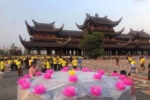 Không tập trung đông người trong ngày Phật đản
