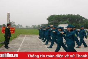 Thanh Hóa xây dựng lực lượng dân quân tự vệ vững mạnh, rộng khắp