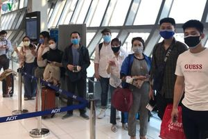 Hỗ trợ 16 công dân Việt Nam bị kẹt tại sân bay Thái Lan về nước