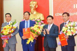 Nhân sự mới: TPHCM, Quảng Ninh, Đắk Lắk, Long An, Phú Yên