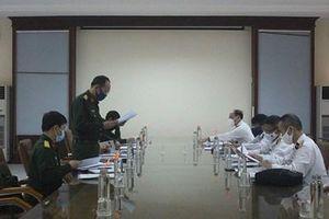 Đoàn công tác Cục Bản đồ, Bộ Tổng tham mưu thăm và kiểm tra Đoàn Đo đạc biên vẽ hải đồ và nghiên cứu biển