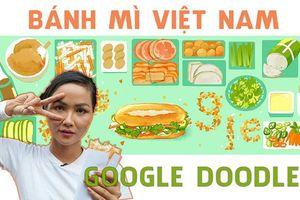Vì sao Google Doodle tôn vinh bánh mì Việt Nam?