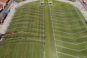 Brazil: Sân bóng tổ chức World Cup biến thành bệnh viện dã chiến chống Covid-19