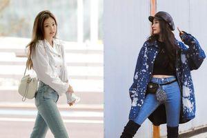 Jennie, Dương Mịch đã mặc quần gì để trông chân thon dài hơn?