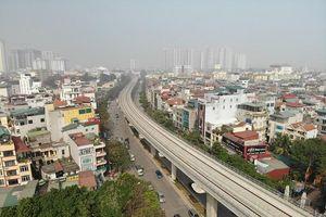 Đường sắt Nhổn - Ga Hà Nội: Đoạn tuyến trên cao vận hành thử vào tháng 9/2020
