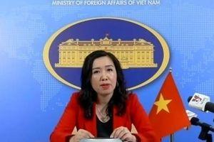 Việt Nam phản ứng việc Trung Quốc thiết lập 2 trạm nghiên cứu tại quần đảo Trường Sa