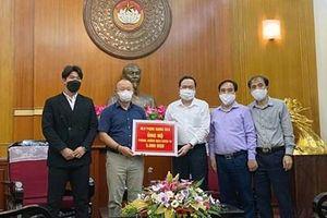 HLV Park Hang-seo ủng hộ 5.000 đô la Mỹ để chống dịch Covid-19