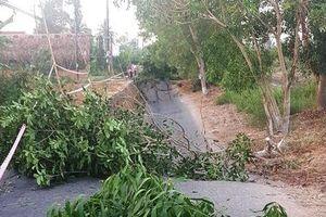 Cà Mau: Đường giao thông liên tiếp bị sụt lún nghiêm trọng