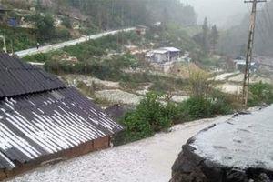 Dông lốc, mưa đá tại Lào Cai và Lai Châu khiến 1 người thiệt mạng