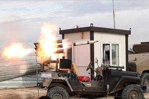 Rocket bắn vào Vùng Xanh ở Baghdad