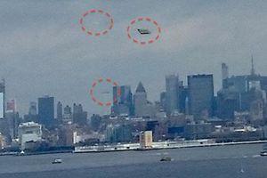 Mỹ: Hoang mang khi thấy UFO 'lượn' gần tượng Nữ thần Tự do