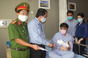 Bảo vệ dân phố bị trọng thương khi truy bắt tội phạm ma túy