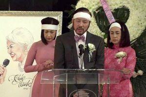 Xúc động trước lễ tang hồng của danh ca Thái Thanh