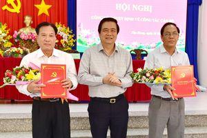 Tin bổ nhiệm nhân sự, lãnh đạo mới tại Quảng Ninh và Long An