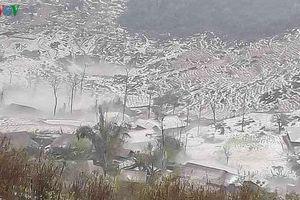 Nhiều địa phương ở Điện Biên tiếp tục chịu thiệt hại nặng do mưa đá