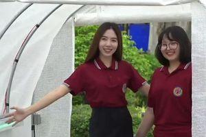 Sinh viên Thái Lan chế tạo ra đường hầm khử trùng diệt virus corona