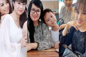 Ngỡ ngàng nhan sắc U60 trẻ trung xinh đẹp của mẹ vợ sao Việt