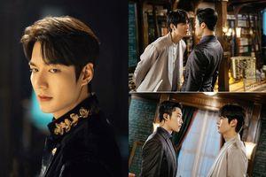 'The King' của Lee Min Ho lộ hình ảnh mới: Fan tích cực 'đẩy thuyền' vua và cận vệ