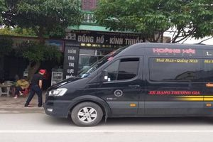 Thái Bình: Còn nhiều bất cập trong việc xử lý xe hợp đồng 'trá hình'